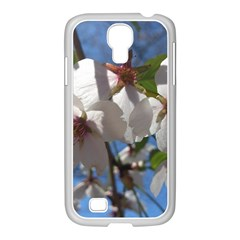 Cherry Blossoms Samsung GALAXY S4 I9500/ I9505 Case (White)