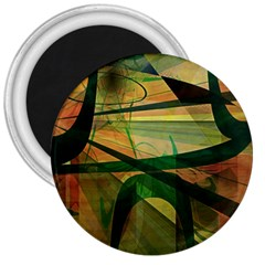 Untitled 3  Button Magnet