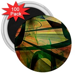 Untitled 3  Button Magnet (100 pack)