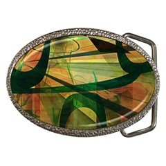 Untitled Belt Buckle (Oval)