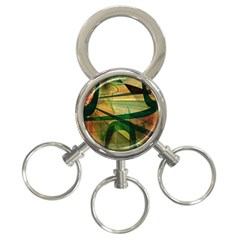 Untitled 3 Ring Key Chain