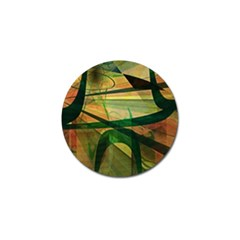 Untitled Golf Ball Marker 4 Pack