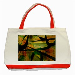 Untitled Classic Tote Bag (red)