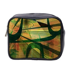Untitled Mini Travel Toiletry Bag (two Sides)