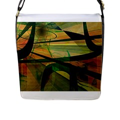Untitled Flap Closure Messenger Bag (Large)
