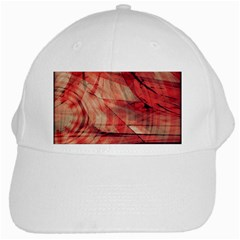 Grey And Red White Baseball Cap