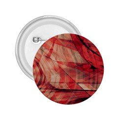 Grey And Red 2.25  Button