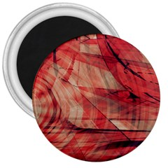 Grey And Red 3  Button Magnet