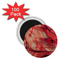 Grey And Red 1.75  Button Magnet (100 pack)