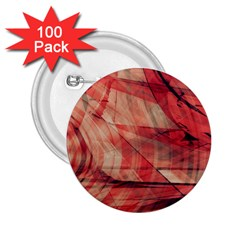 Grey And Red 2.25  Button (100 pack)