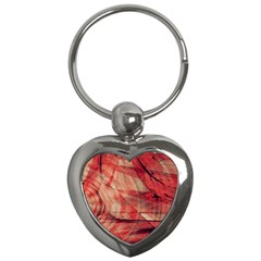 Grey And Red Key Chain (Heart)