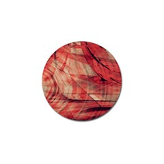 Grey And Red Golf Ball Marker