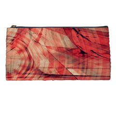 Grey And Red Pencil Case