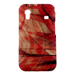 Grey And Red Samsung Galaxy Ace S5830 Hardshell Case