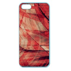 Grey And Red Apple Seamless Iphone 5 Case (color)