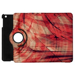 Grey And Red Apple iPad Mini Flip 360 Case