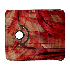 Grey And Red Samsung Galaxy S  III Flip 360 Case