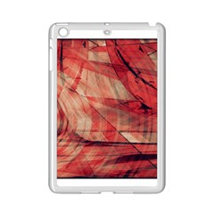 Grey And Red Apple Ipad Mini 2 Case (white)