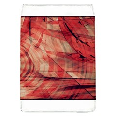 Grey And Red Removable Flap Cover (Large)
