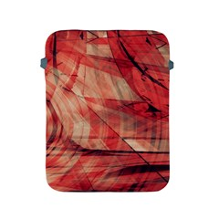 Grey And Red Apple iPad Protective Sleeve