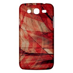 Grey And Red Samsung Galaxy Mega 5 8 I9152 Hardshell Case