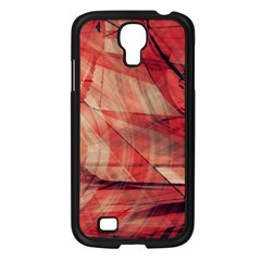 Grey And Red Samsung Galaxy S4 I9500/ I9505 Case (black)