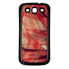 Grey And Red Samsung Galaxy S3 Back Case (black)