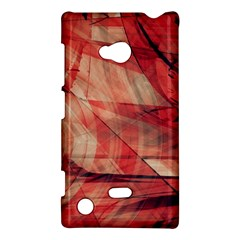 Grey And Red Nokia Lumia 720 Hardshell Case