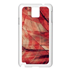 Grey And Red Samsung Galaxy Note 3 N9005 Case (White)