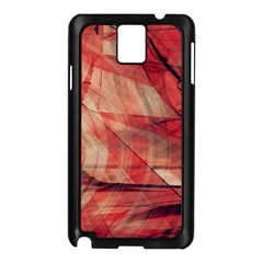 Grey And Red Samsung Galaxy Note 3 N9005 Case (Black)