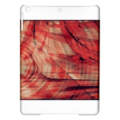 Grey And Red Apple Ipad Air Hardshell Case