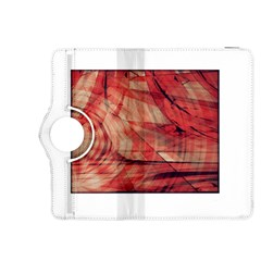 Grey And Red Kindle Fire HDX 8.9  Flip 360 Case