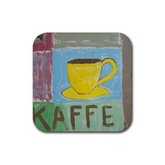 Kaffe Painting Drink Coasters 4 Pack (Square)