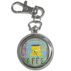 Kaffe Painting Key Chain Watch