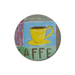 Kaffe Painting Drink Coasters 4 Pack (Round)