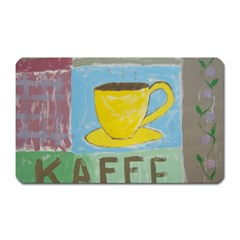 Kaffe Painting Magnet (Rectangular)