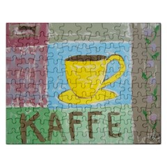 Kaffe Painting Jigsaw Puzzle (Rectangle)