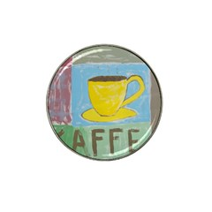 Kaffe Painting Golf Ball Marker 4 Pack (for Hat Clip)