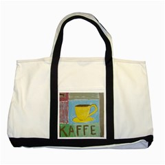 Kaffe Painting Two Toned Tote Bag