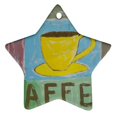 Kaffe Painting Star Ornament (Two Sides)