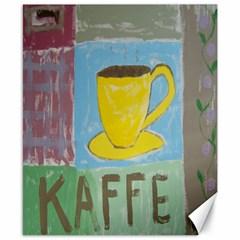 Kaffe Painting Canvas 8  X 10  (unframed)
