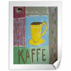 Kaffe Painting Canvas 12  X 16  (unframed)
