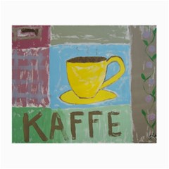 Kaffe Painting Glasses Cloth (Small, Two Sided)