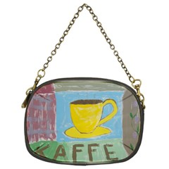 Kaffe Painting Chain Purse (two Sided)
