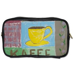 Kaffe Painting Travel Toiletry Bag (two Sides)