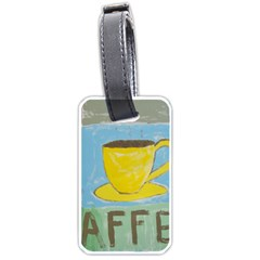 Kaffe Painting Luggage Tag (Two Sides)