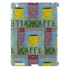 Kaffe Painting Apple Ipad 3/4 Hardshell Case (compatible With Smart Cover)