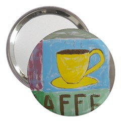 Kaffe Painting 3  Handbag Mirror