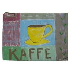 Kaffe Painting Cosmetic Bag (xxl)