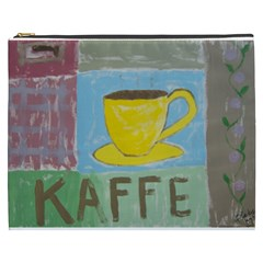 Kaffe Painting Cosmetic Bag (xxxl)